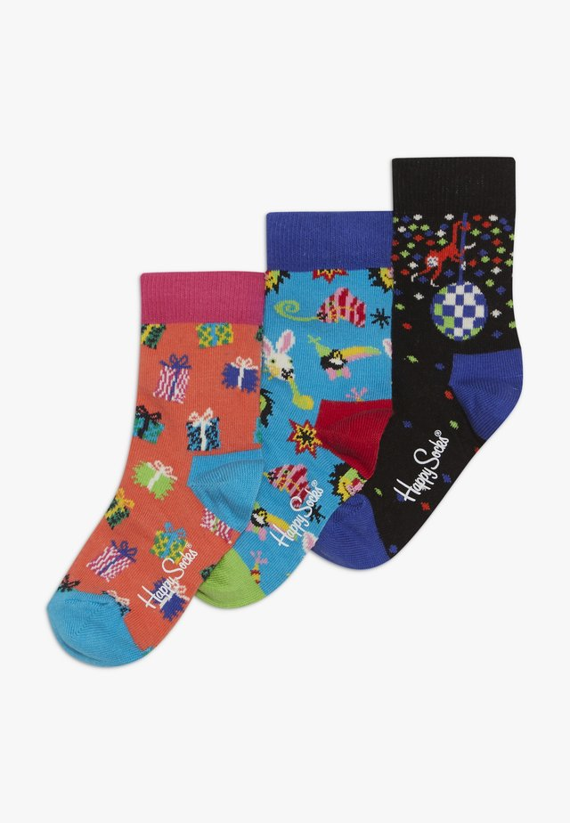 BIRTHDAY KIDS GIFT BOX 3 PACK - Socks - multicoloured