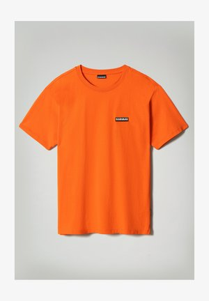 S-PATCH SS - Basic T-shirt - orangeade