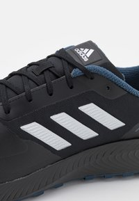 adidas Performance - RUNFALCON 2.0 TR - Neutrale løbesko - core black/silver metallic/crew navy - 5