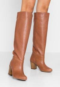 L37 - SUPER NOVA - Boots - cognac - 0