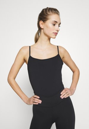 SCOOP BACK LEOTARD - trikot na gymnastiku - black