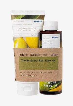 BERGAMOT PEAR BODY CARE SET - Bath and body set - -