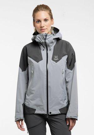 HAGLÖFS WINDBREAKER ROC SPIRE JACKET WOMEN - Soft shell jacket - grey
