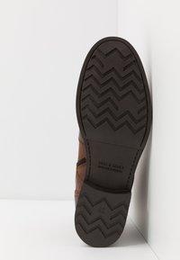 Jack & Jones - JFWRUSSEL - Lace-up ankle boots - cognac - 4