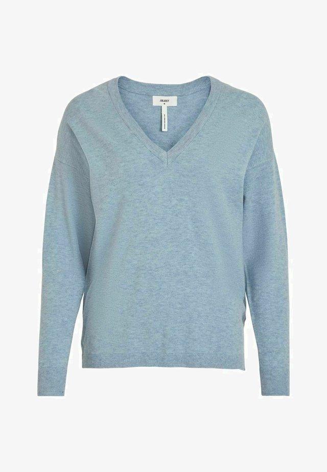 Jersey de punto - blue mirage