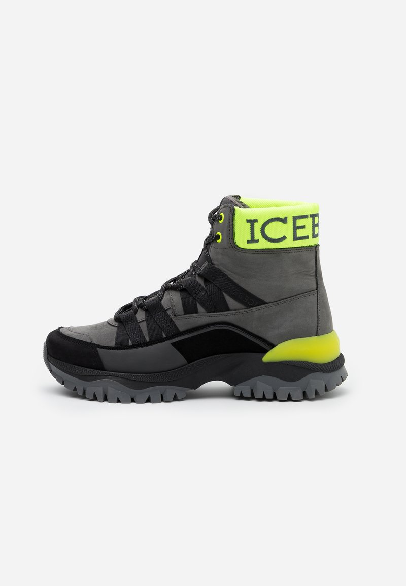 Iceberg - PRIMA - High-top trainers - neon