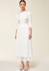 IVY & OAK - A-line skirt - snow white - 1