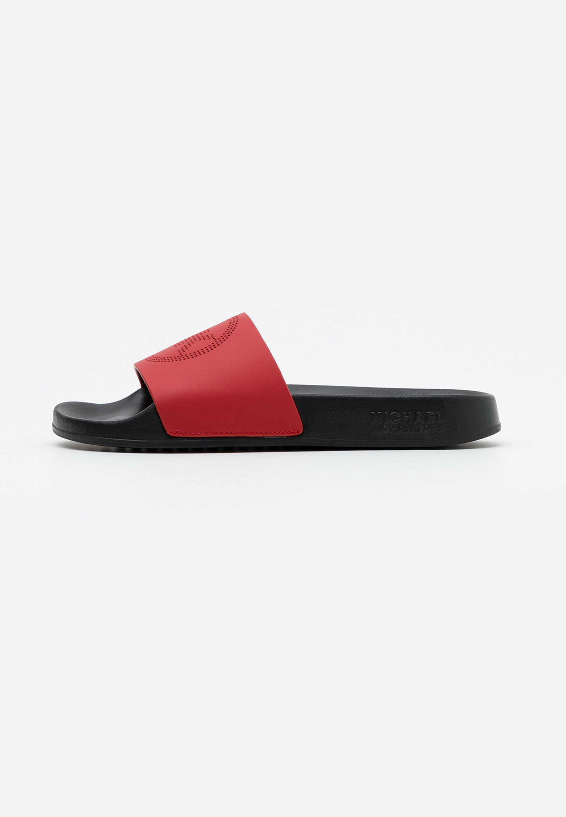 Michael Kors Gilmore Slide - Sandaler Bright Red