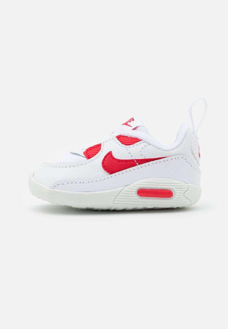 Nike Sportswear - MAX 90 CRIB - Patucos - white/hyper red