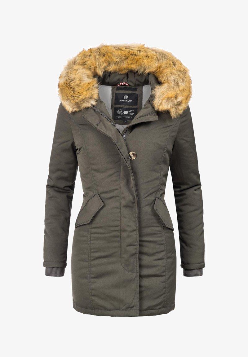 Marikoo - KARMAA - Winter coat - anthrazitgrau