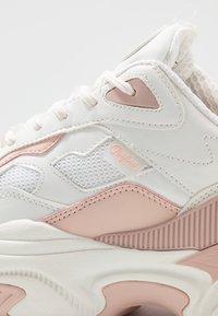 Buffalo - CREVIS - Sneaker low - cream/pastel rose - 2