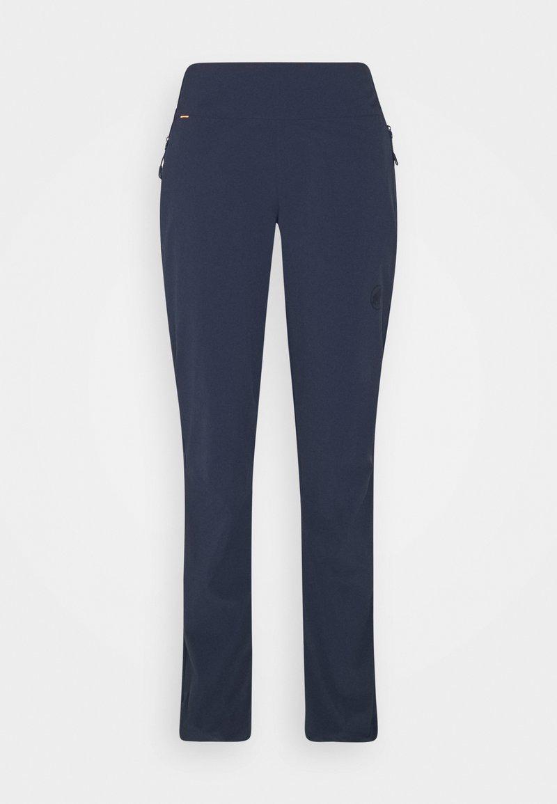 Mammut - RUNBOLD LIGHT PANTS WOMEN - Trousers - marine
