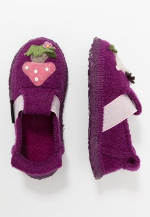 PRICKY HEDGEHOG - Slippers - bordeaux