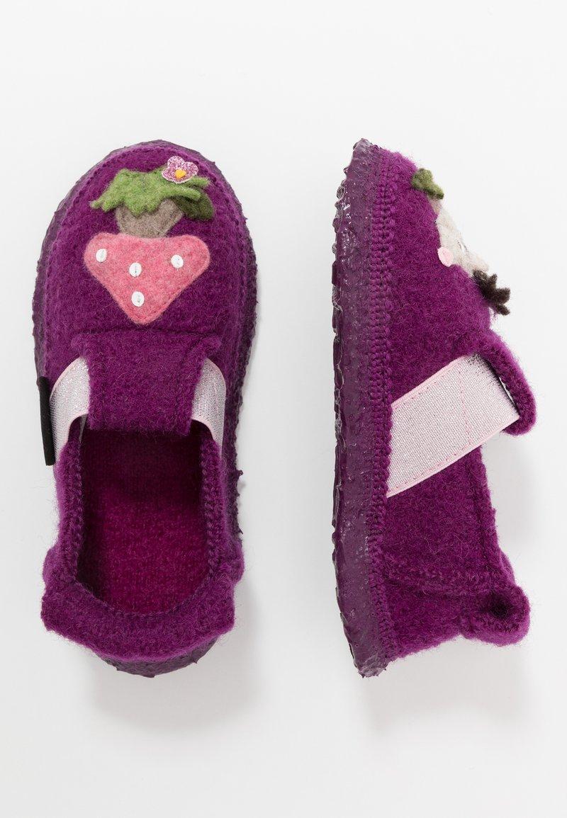 Nanga - PRICKY HEDGEHOG - Slippers - bordeaux