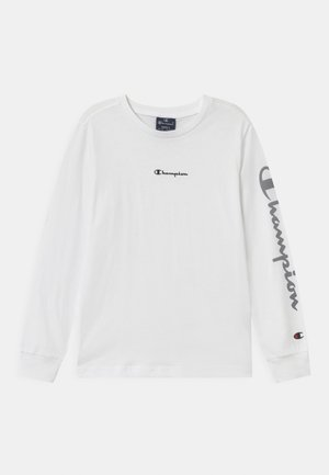 LEGACY AMERICAN CLASSICS CREWNECK UNISEX - Long sleeved top - white