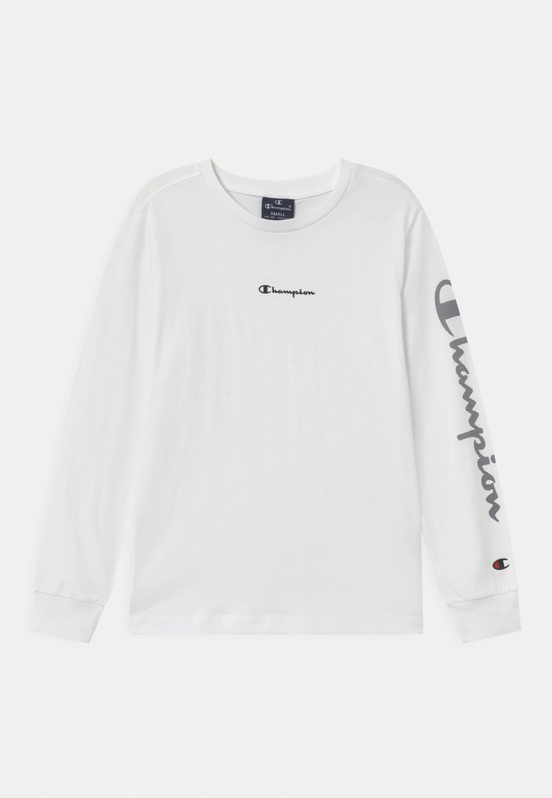 Champion - LEGACY AMERICAN CLASSICS CREWNECK UNISEX - Long sleeved top - white