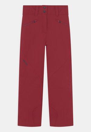 ALIN PANTS SKI - Zimní kalhoty - wine red