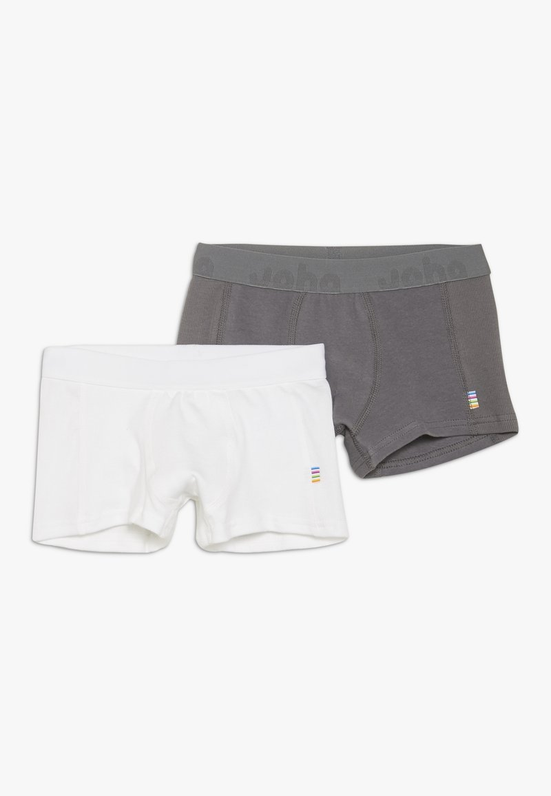 Joha - BOXERSHORTS 2 PACK - Pants - white