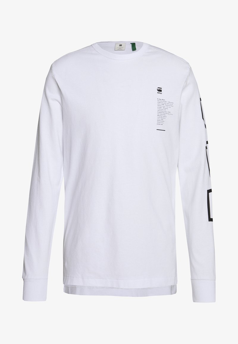G-Star - MULTI ARM GR SHIELD R T L\S - Long sleeved top - white