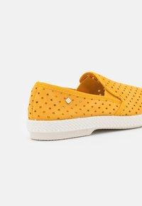 RIVIERAS - UNISEX - Nazouvací boty - punch yellow - 5
