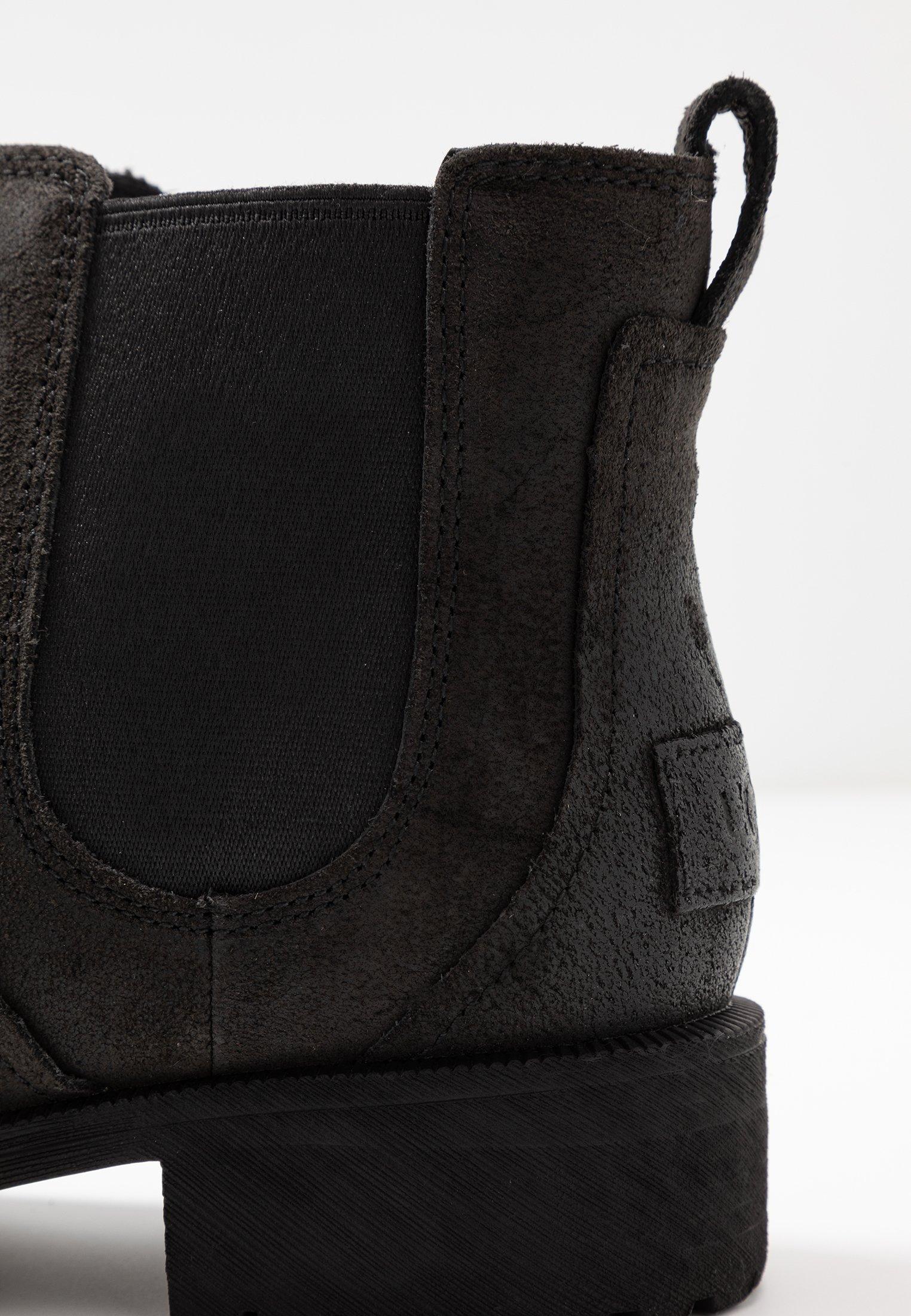 BONHAM BOOT Stövletter black