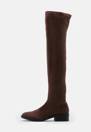 TAMARA - Kozačky nad kolena - brown