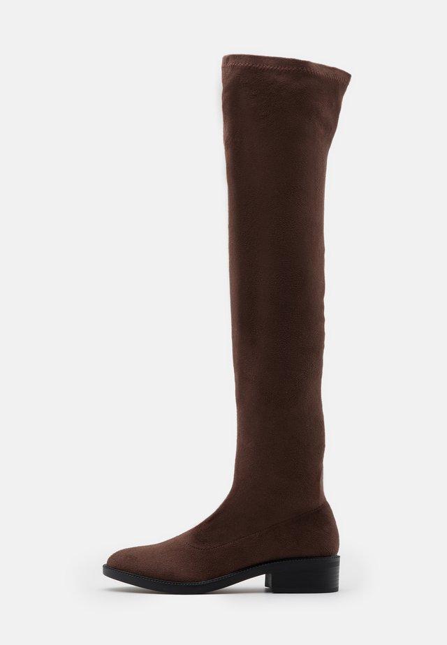 TAMARA - Overknees - brown