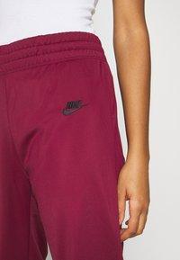 Nike Sportswear - TRACK SUIT SET - Tracksuit - dark beetroot/white - 4