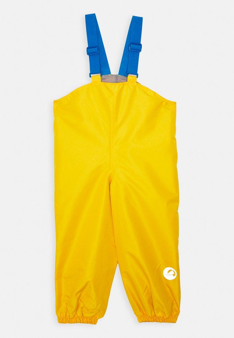 Finkid - PULLEA UNISEX - Rain trousers - yellow