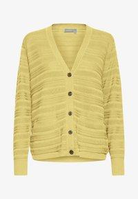 Fransa - FRITLINE - Cardigan - yellow - 4