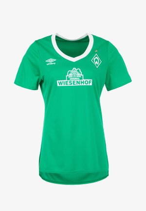 Club wear - green/white