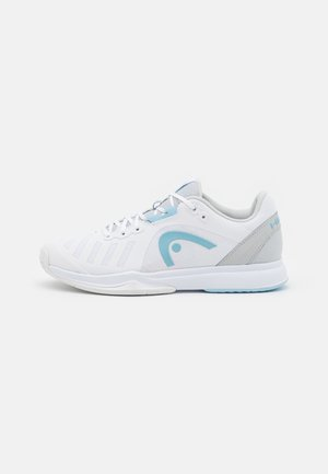 SPRINT TEAM 3.0 - Multicourt tennis shoes - white/gray