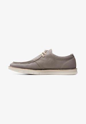 FORGE RUN - Chaussures bateau - grey
