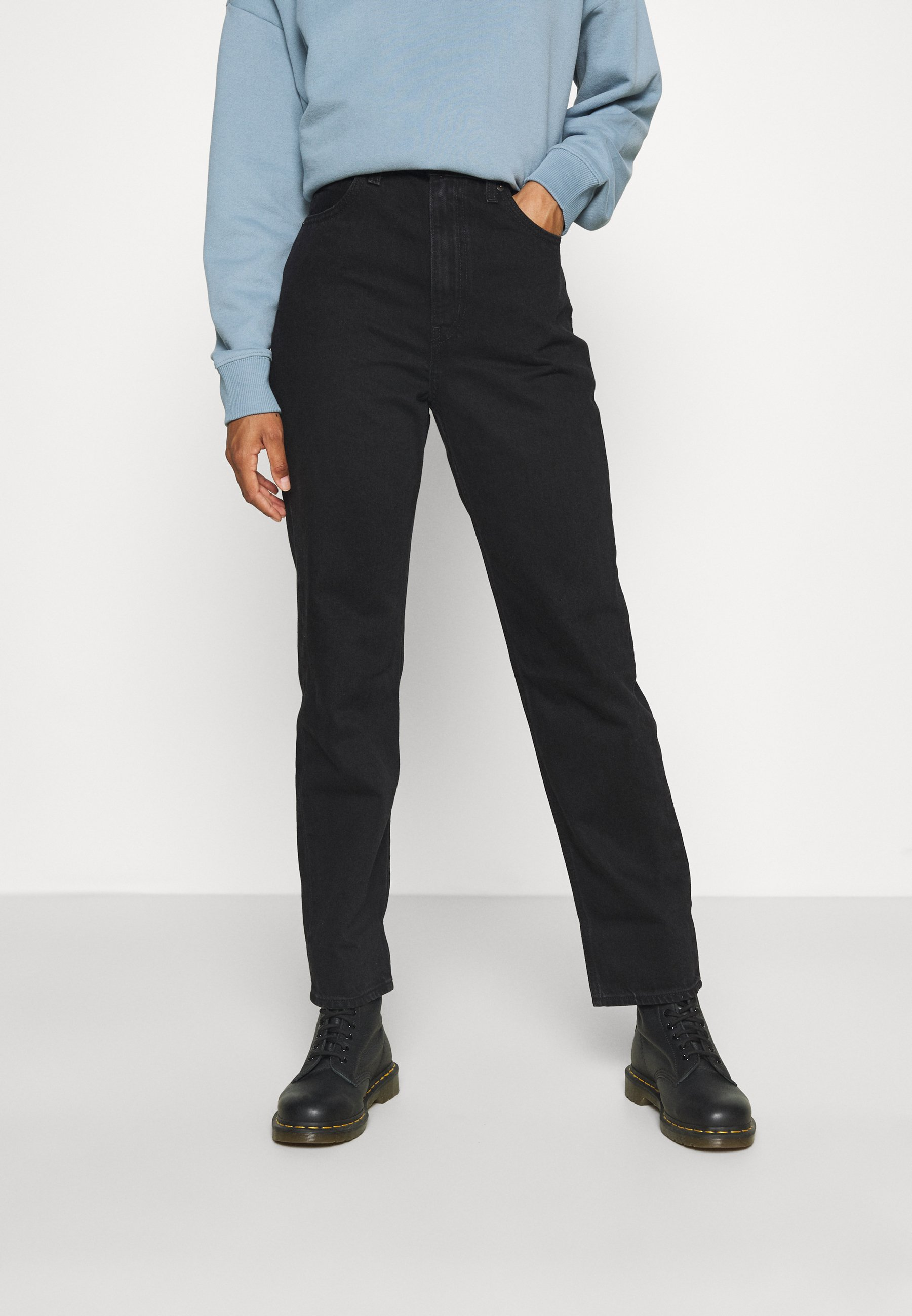 Femme 70S HIGH STRAIGHT - Jean droit