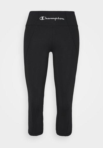 CAPRI LEGGINGS - 3/4 sports trousers - black