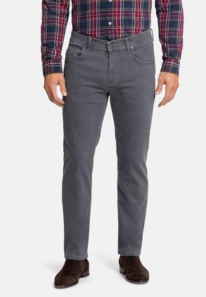 5-POCKET- RANDO - Straight leg jeans - dark grey stonewash