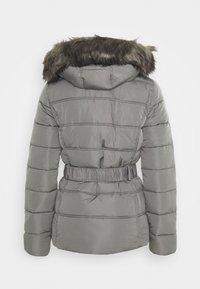 New Look Tall - FITTED PADDED PUFFER - Zimní bunda - dark grey - 1