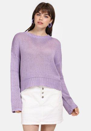 Jersey de punto - purple