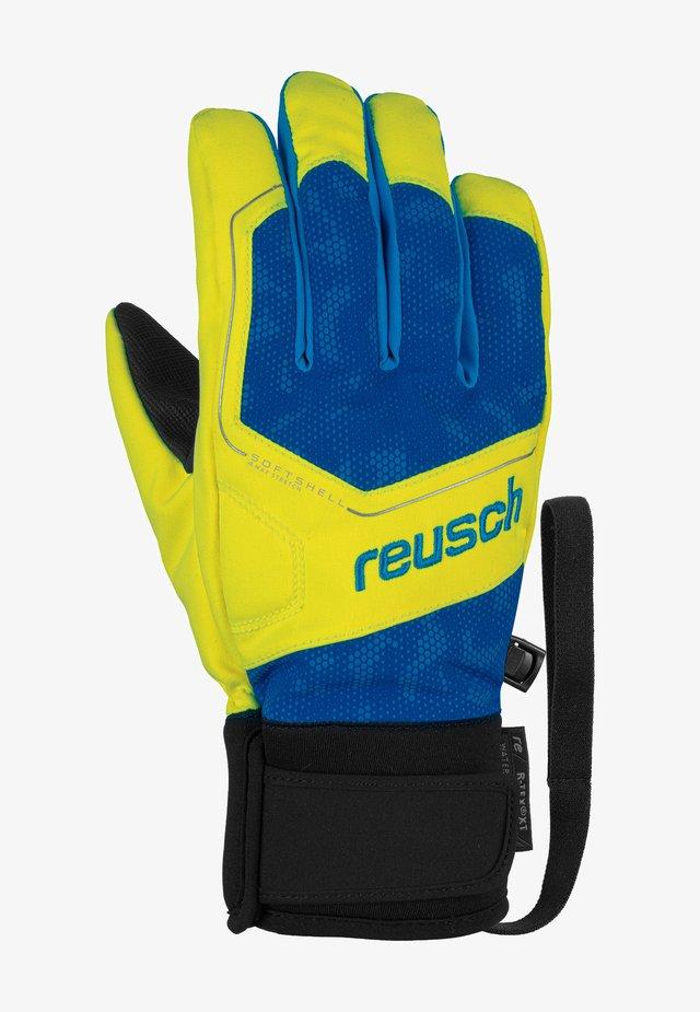 TORBY R-TEX® XT  - Gloves - surf web/sft yell/bril bl