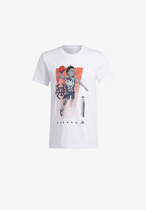 DONOVAN GEEK UP T-SHIRT - Print T-shirt - white