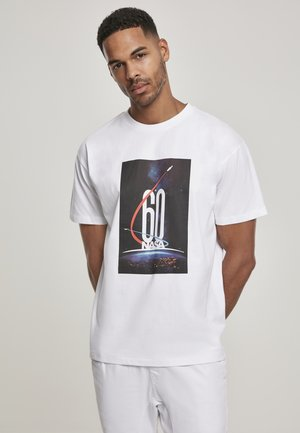 NASA  - T-shirt med print - white