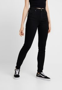 Lee - SCARLETT SUPER HIGH BODY - Jeans Skinny Fit - black rinse - 0