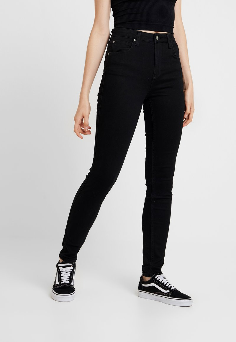 Lee - SCARLETT SUPER HIGH BODY - Jeans Skinny Fit - black rinse