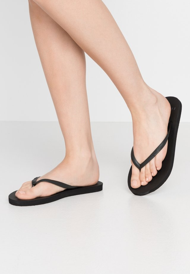 BONDI  - Teenslippers - black