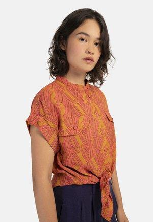 CELENE - Button-down blouse - orange