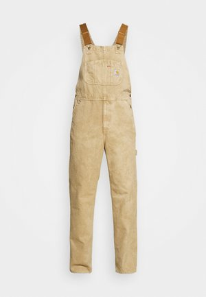 BIB OVERALL DEARBORN - Dungarees - dusty brown worn
