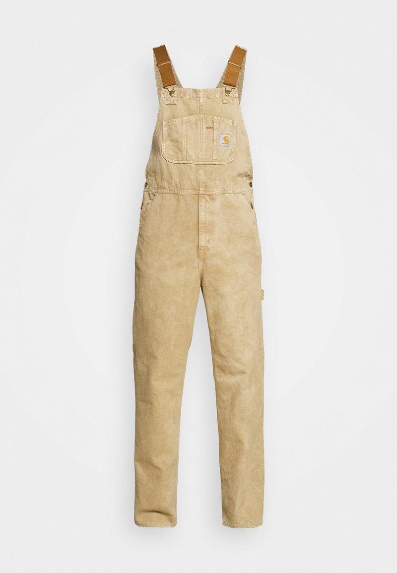 Carhartt WIP - BIB OVERALL DEARBORN - Overall /Buksedragter - dusty brown worn