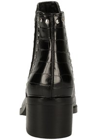 Steve Madden - CADE - Classic ankle boots - black croco - 3