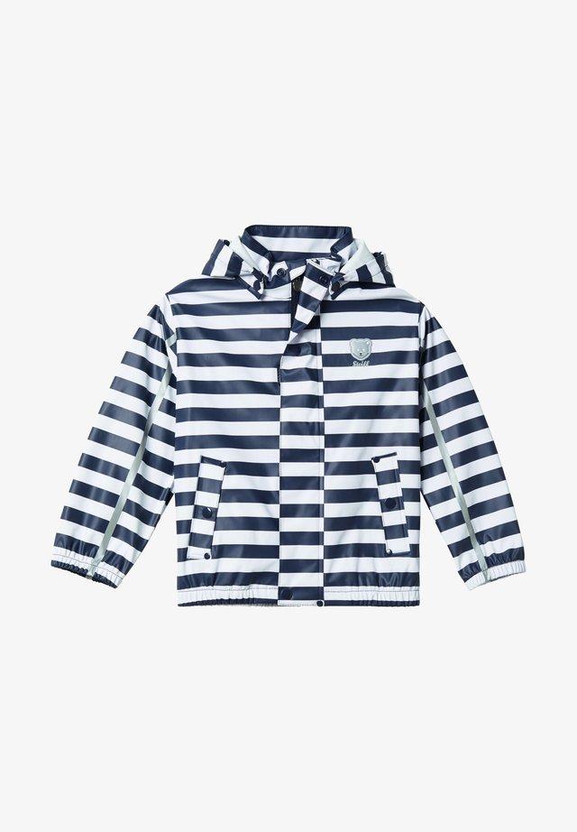 Waterproof jacket - dark blue