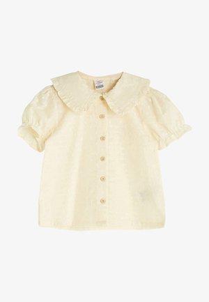 Overhemdblouse - beige
